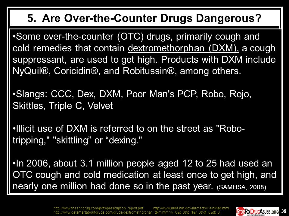 5. Are Over-the-Counter Drugs Dangerous