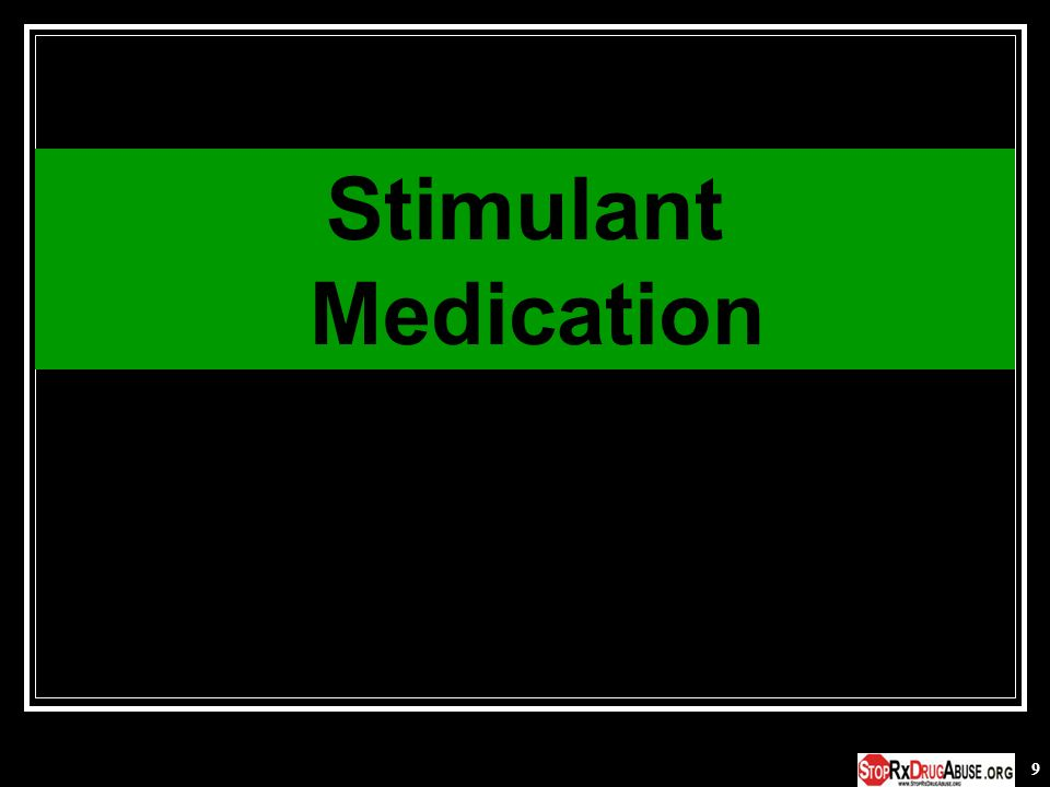 Stimulant Medication