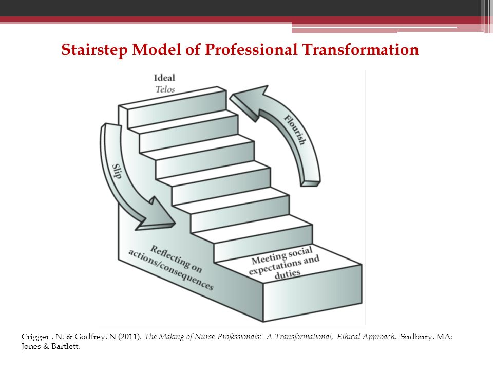 Stairstep Model of Professional Transformation