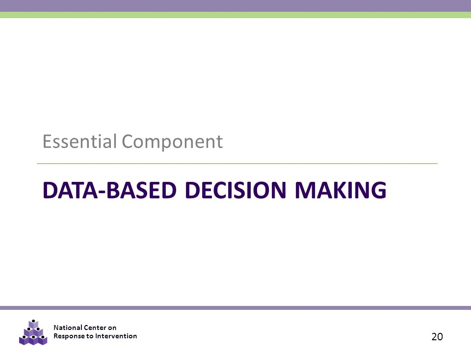 DATA-BASED DECISION MAKING: THE IMPACT OF DATA VARIABILITY, TRAINING, AND CONTEXT