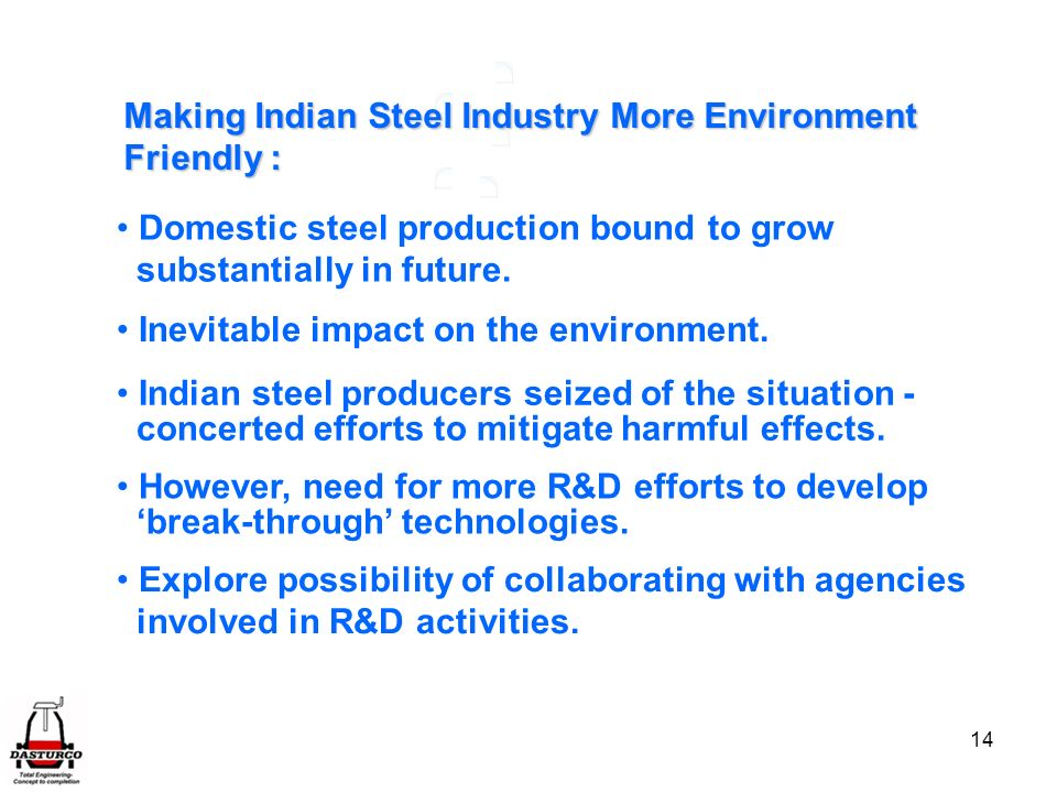 Making Indian Steel Industry More Environment
