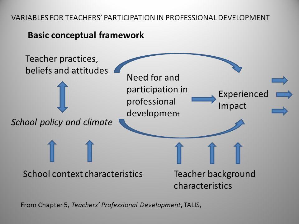 Basic conceptual framework