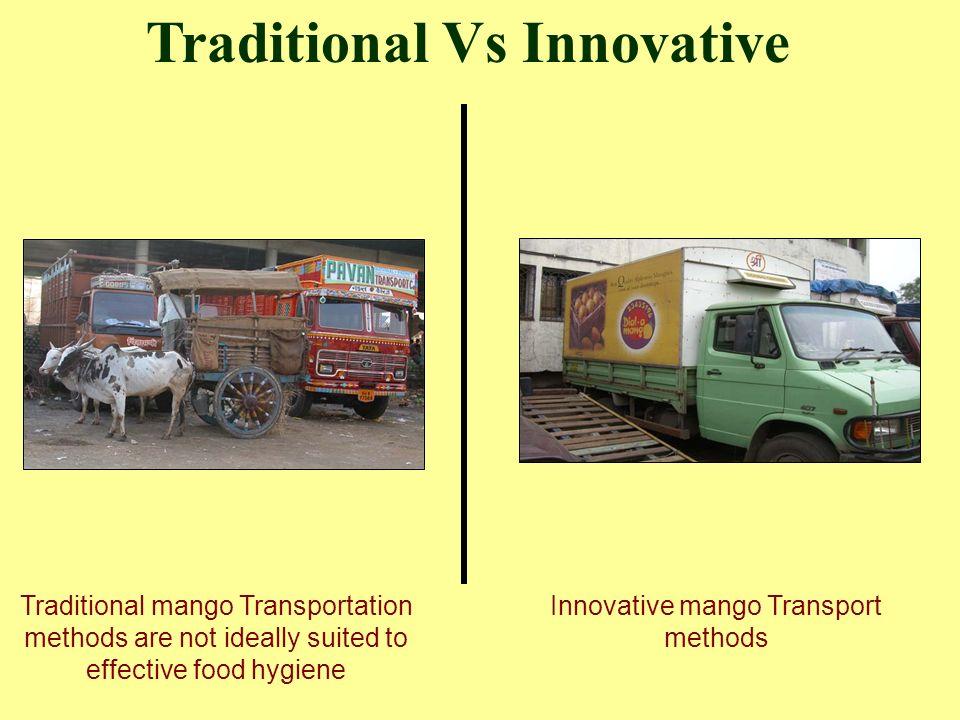 Innovative mango Transport methods