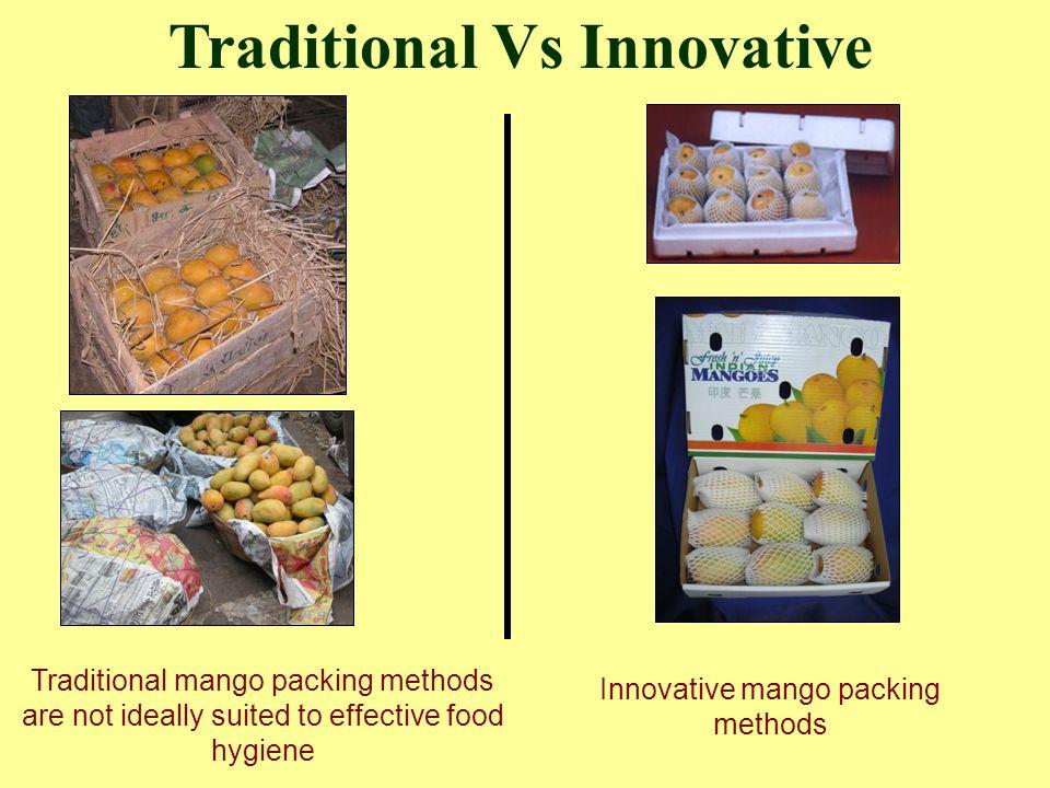 Innovative mango packing methods