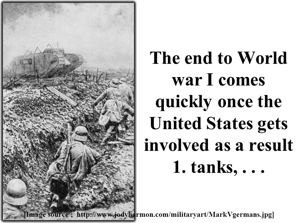 An analysis of the involvement of united states in world war i