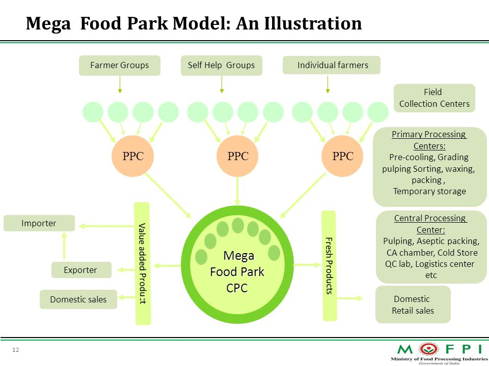 Mega Food Park Model: An Illustration