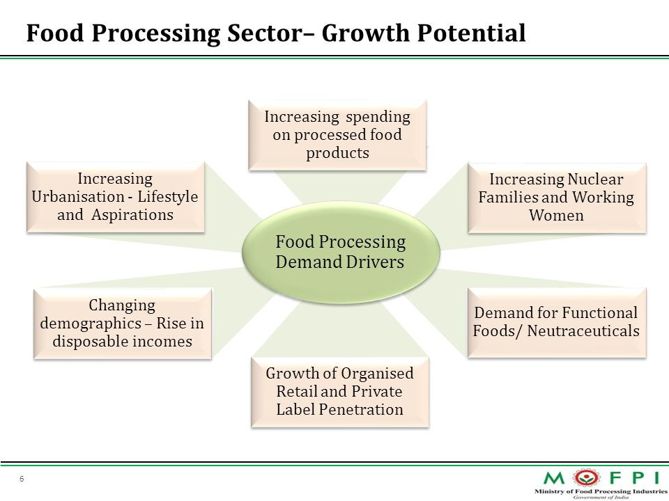 Food Processing Sector– Growth Potential