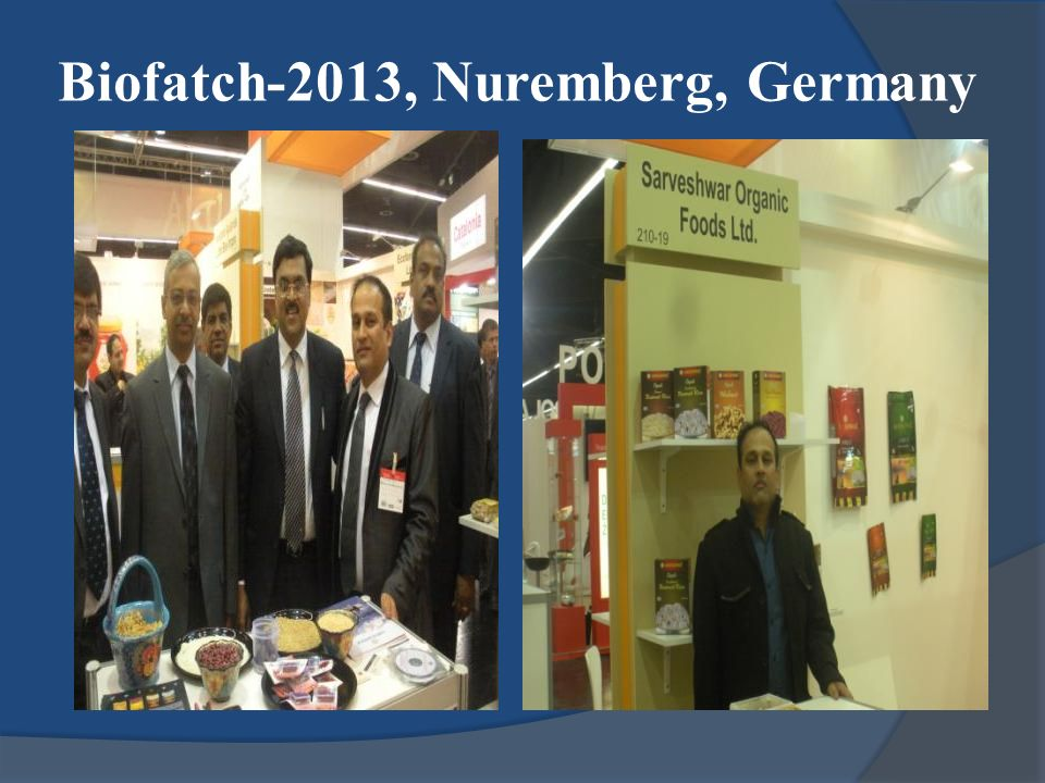 Biofatch-2013, Nuremberg, Germany