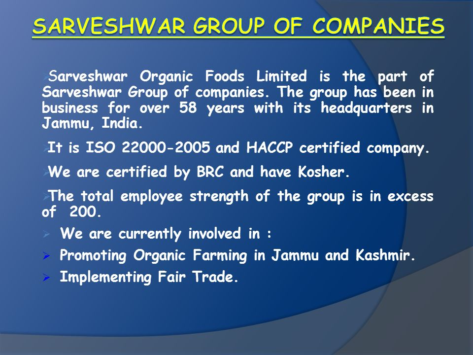 Sarveshwar Group of Companies