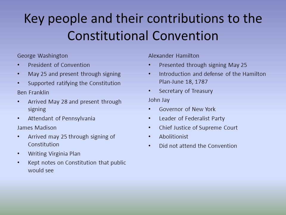 the constitutional convention The constitutional converntion took place in independence hall, philadelphia, pennsylvania the constitutional convention (also known as the federal convention, the philadelphia convention, the.