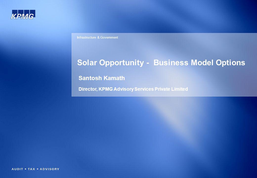 Solar Opportunity - Business Model Options