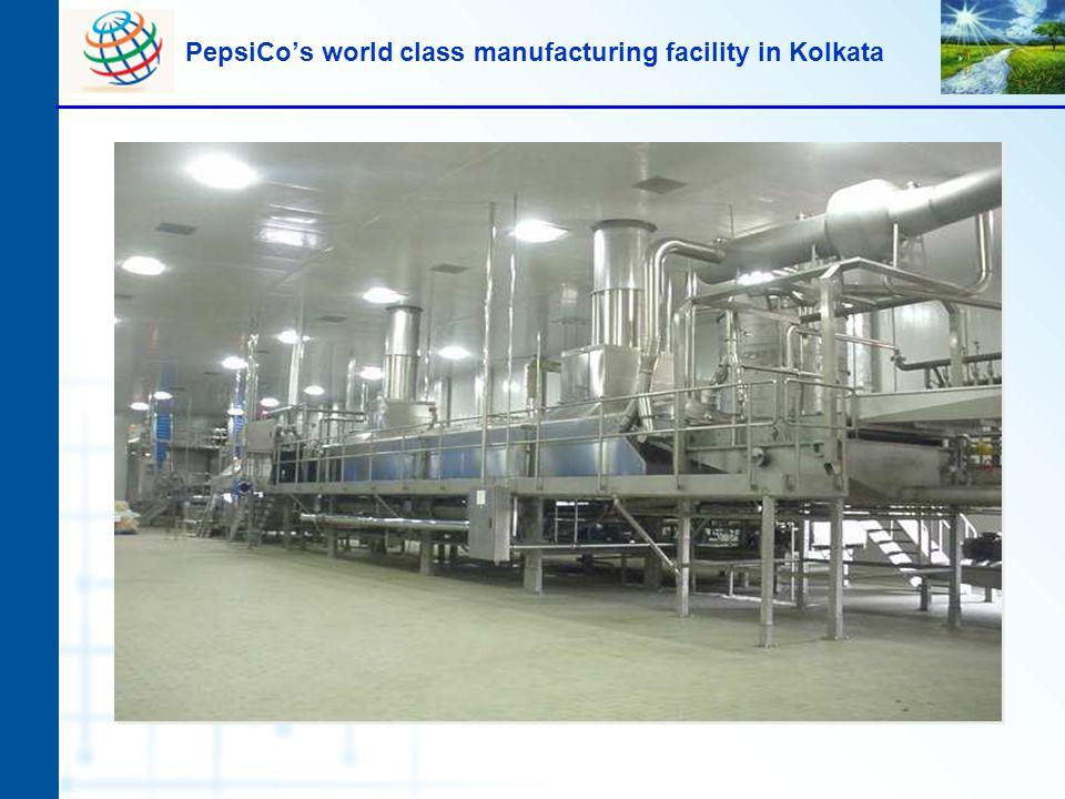 PepsiCo's world class manufacturing facility in Kolkata