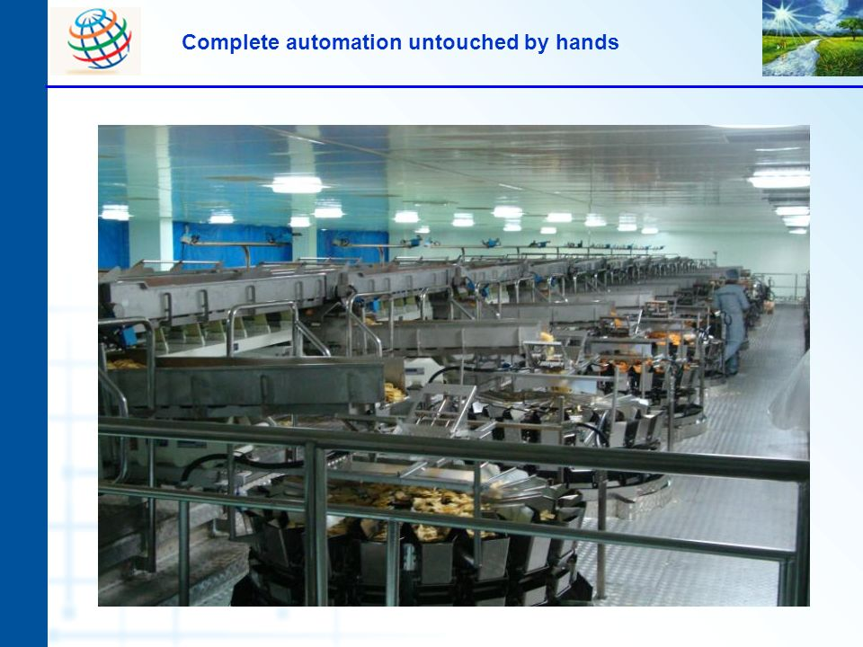 Complete automation untouched by hands