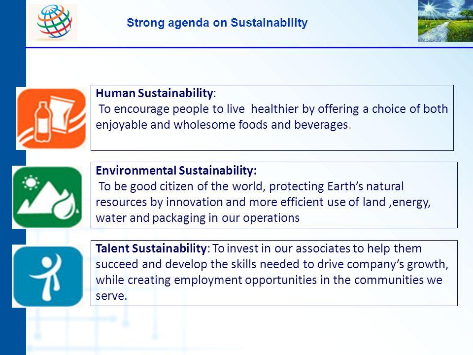 Strong agenda on Sustainability