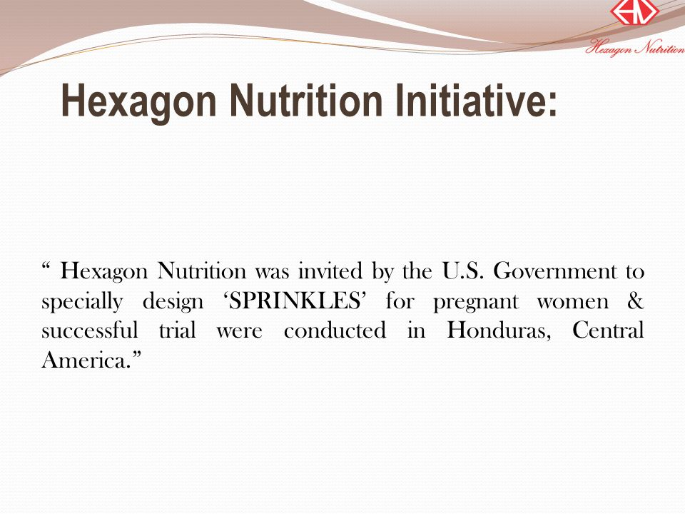 Hexagon Nutrition Initiative: