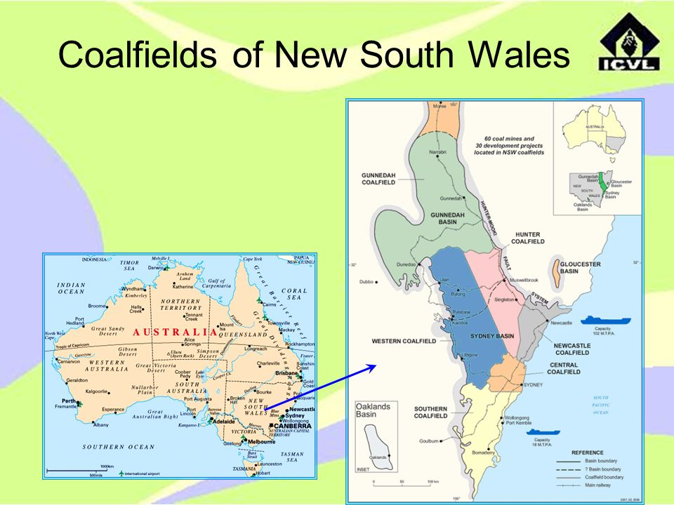 Coalfields of New South Wales