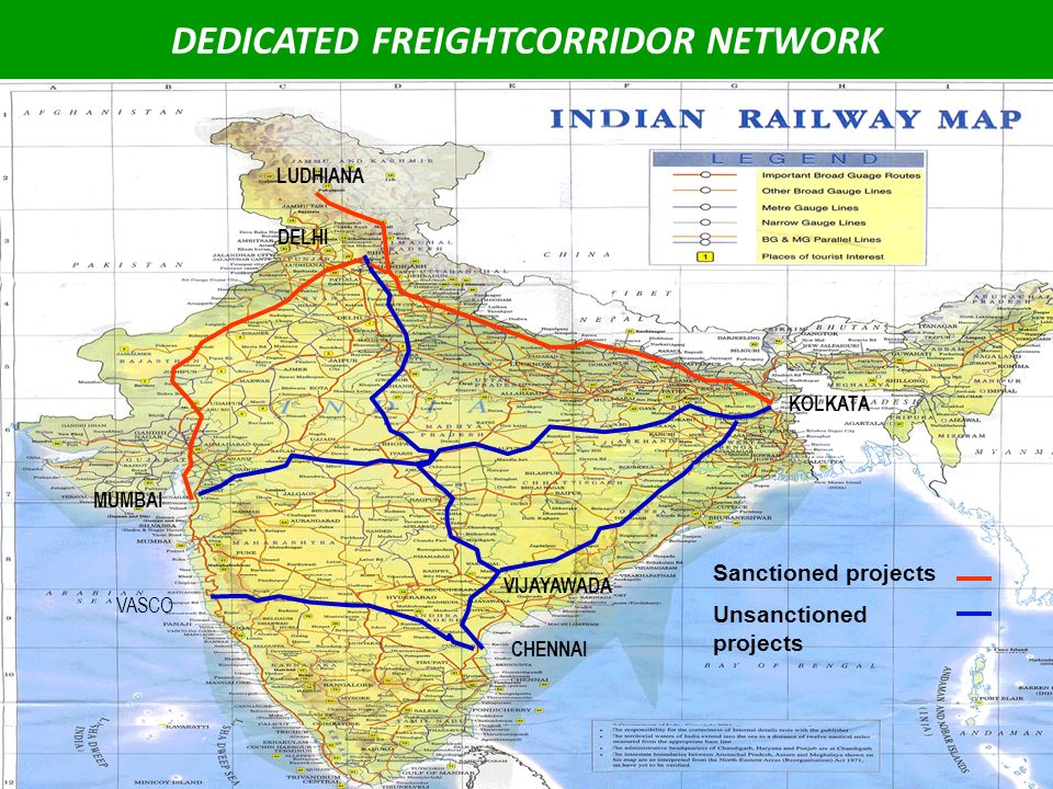 DEDICATED FREIGHTCORRIDOR NETWORK