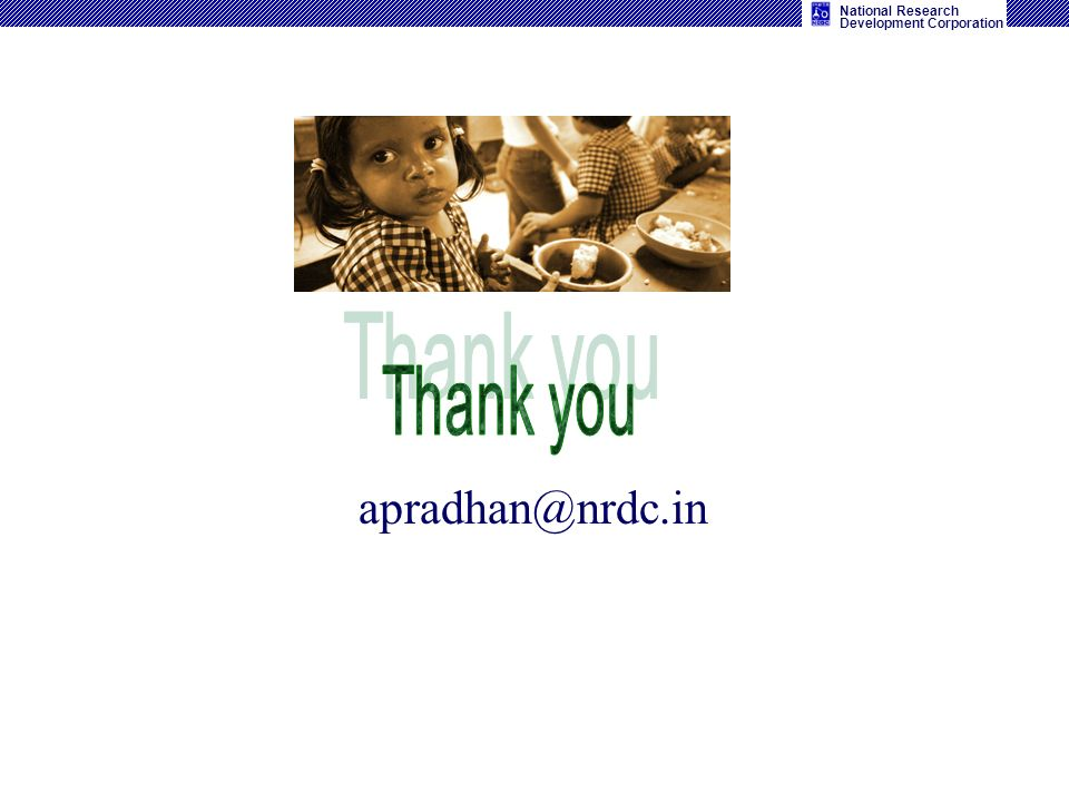 Thank you apradhan@nrdc.in