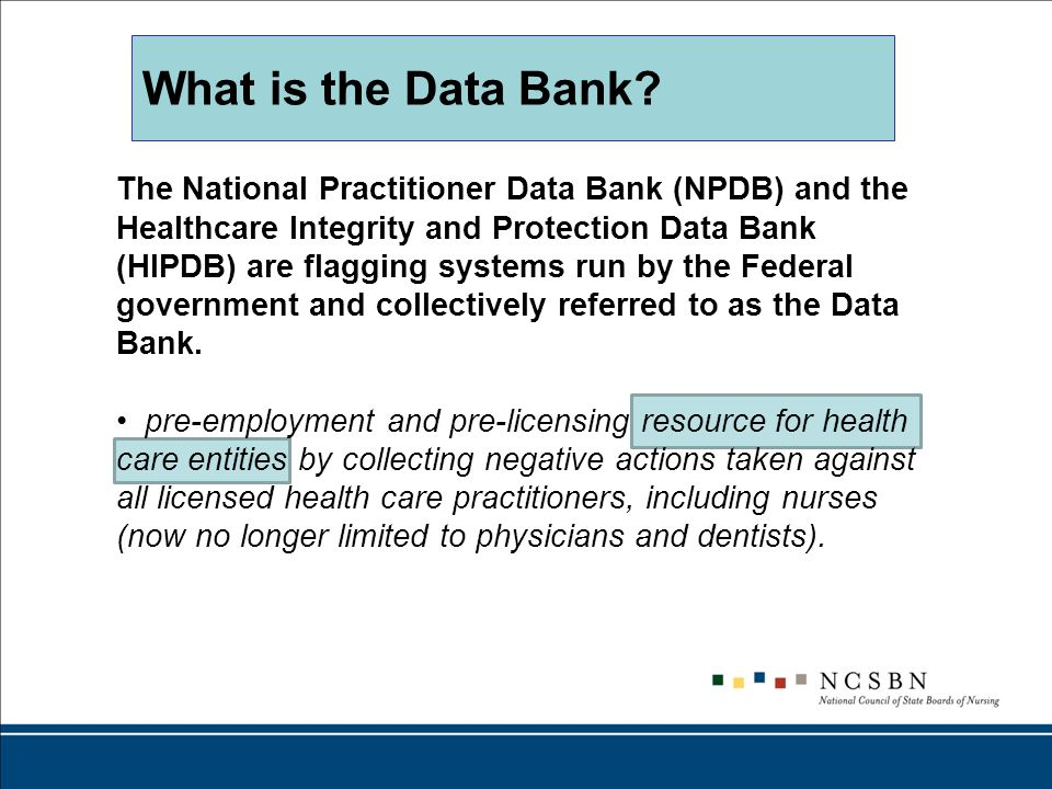What is the Data Bank