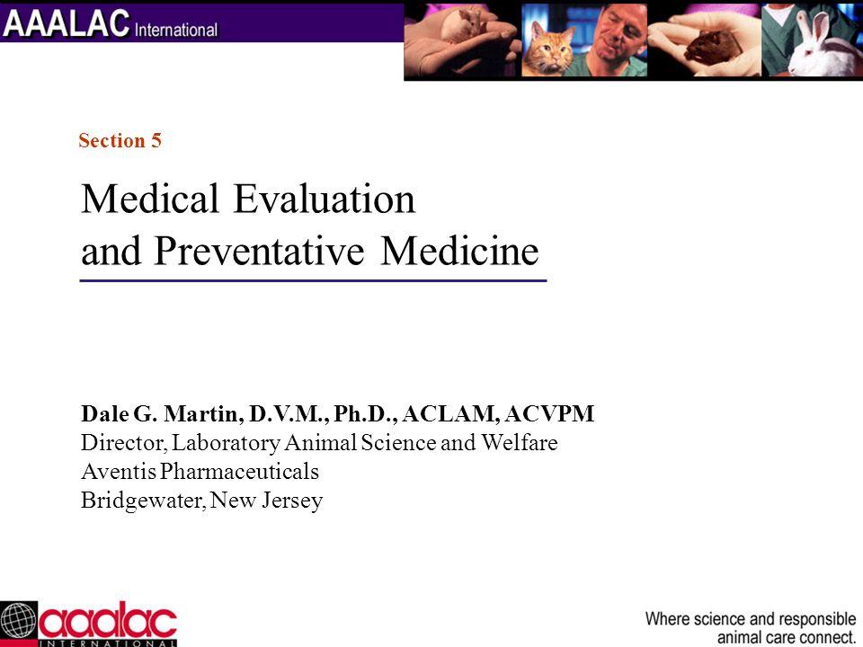 and Preventative Medicine