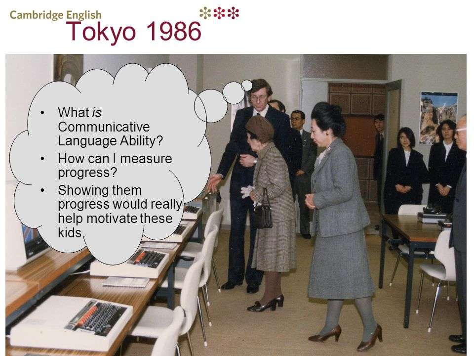 Tokyo 1986 What is Communicative Language Ability