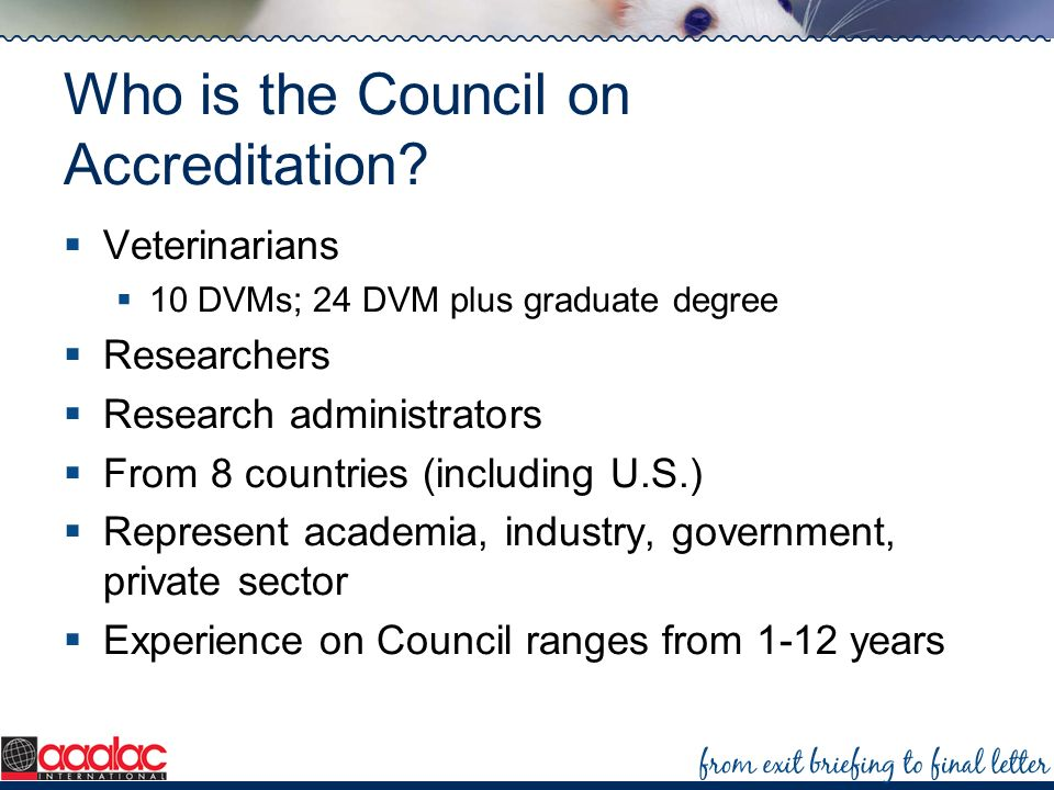 Who is the Council on Accreditation