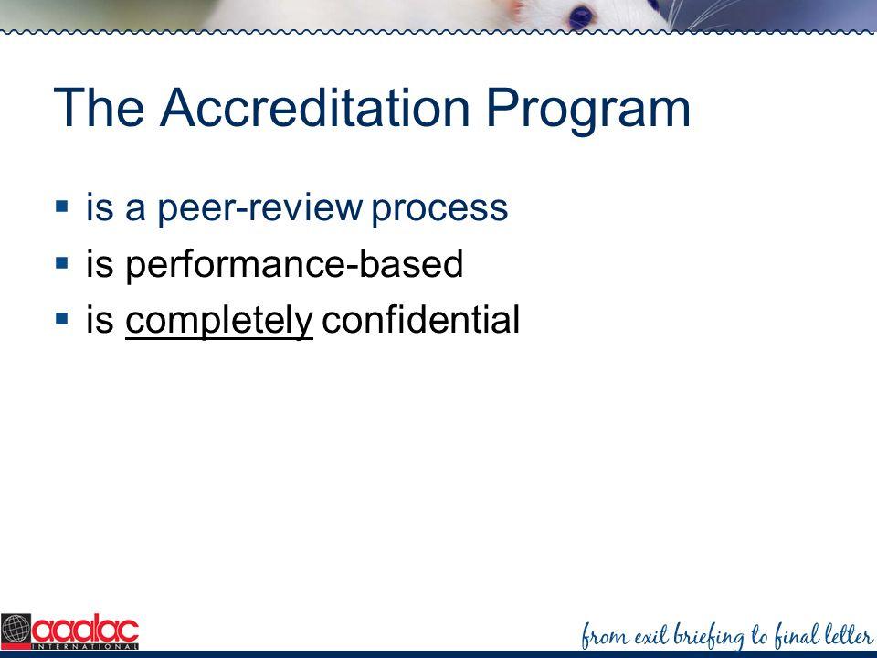 The Accreditation Program