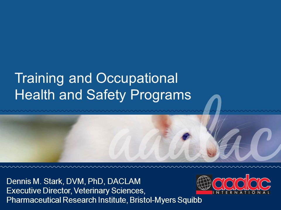 Training and Occupational Health and Safety Programs