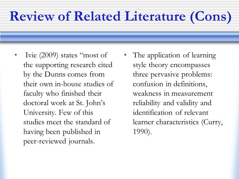 related literature for problems of students Chapter 2 -- review of related literature the reality shock of  connotation  by including issues of student motivation, but most teachers, judging by their.