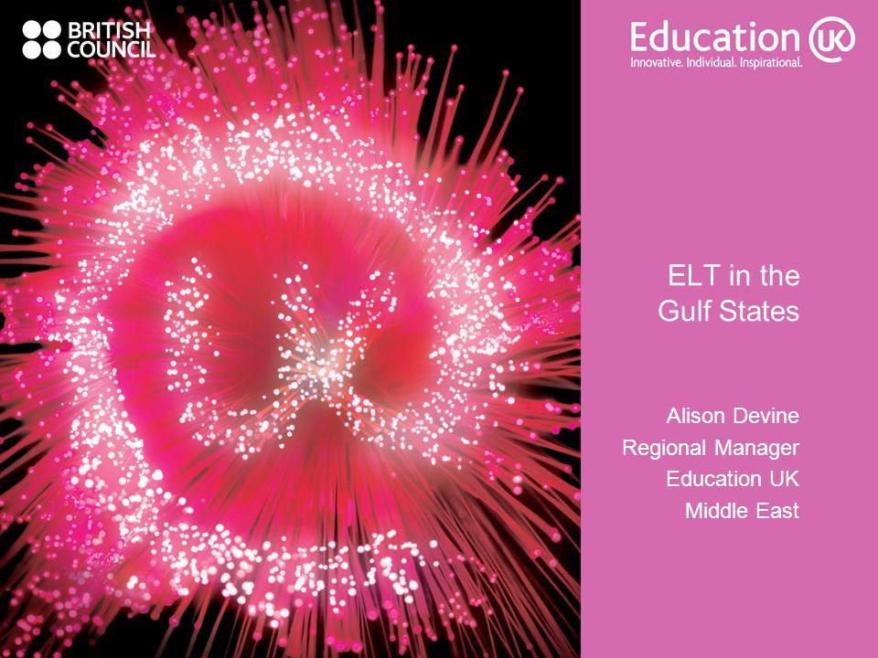Alison Devine Regional Manager Education UK Middle East