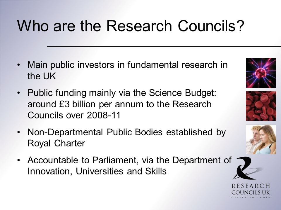 Who are the Research Councils