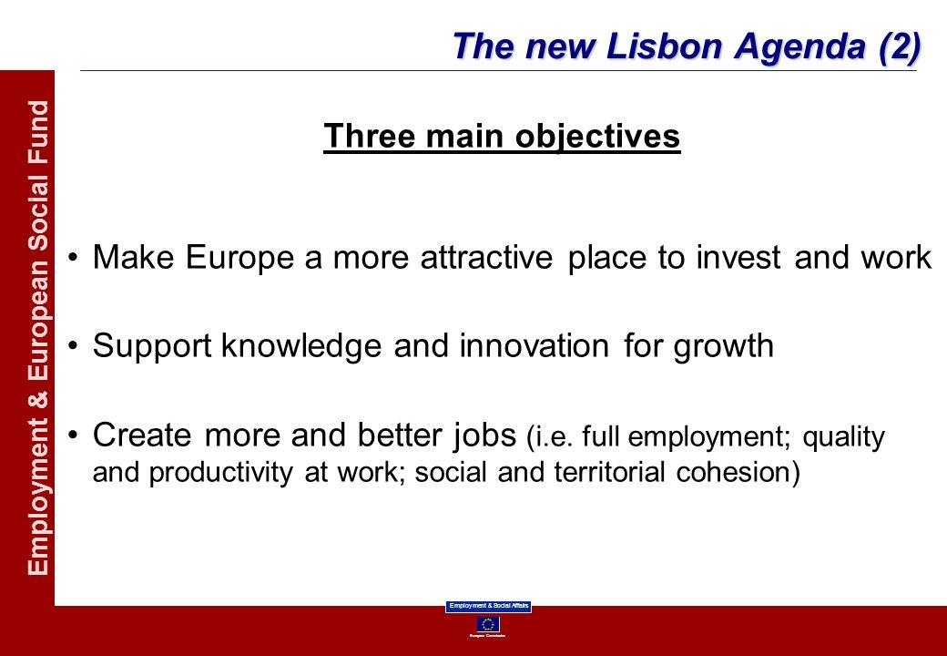 The new Lisbon Agenda (2)