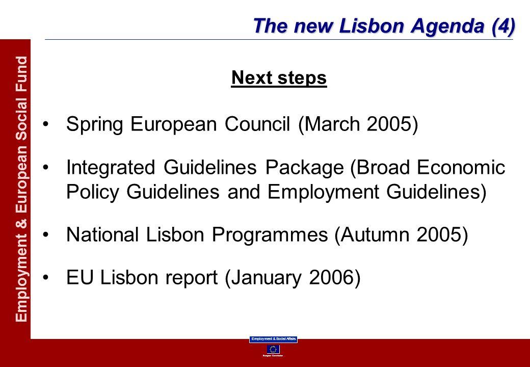 The new Lisbon Agenda (4)