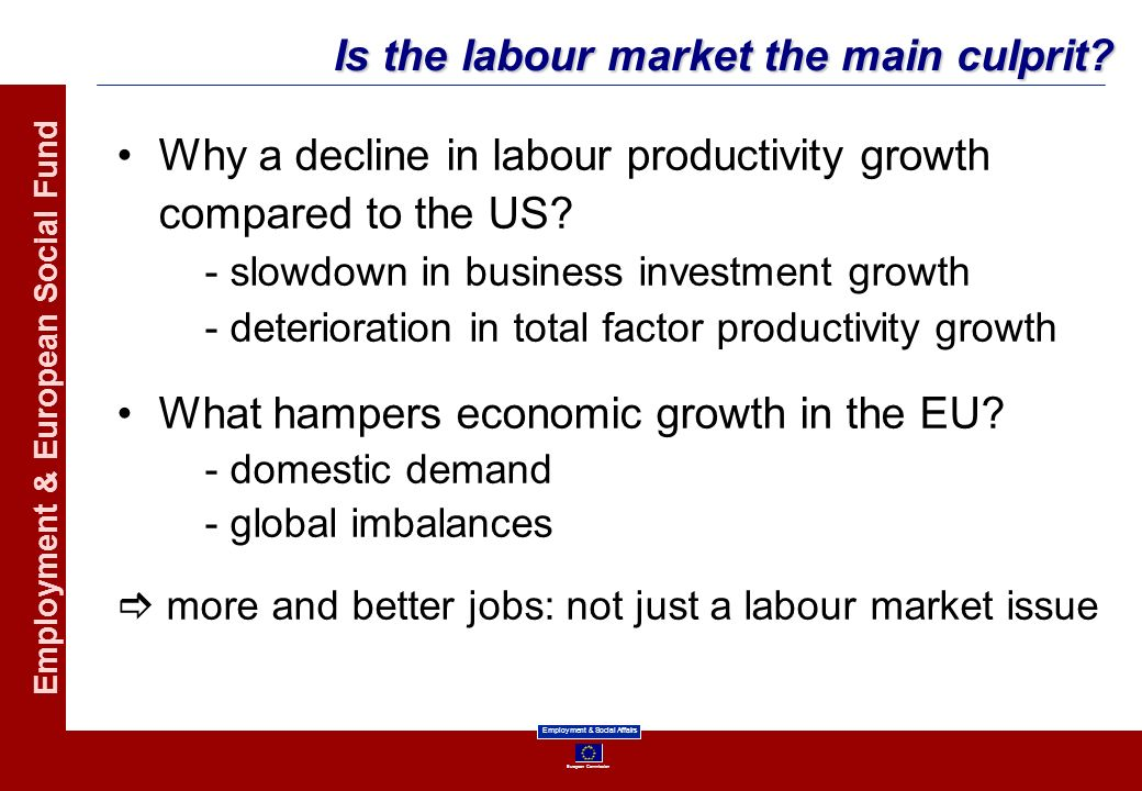 Is the labour market the main culprit