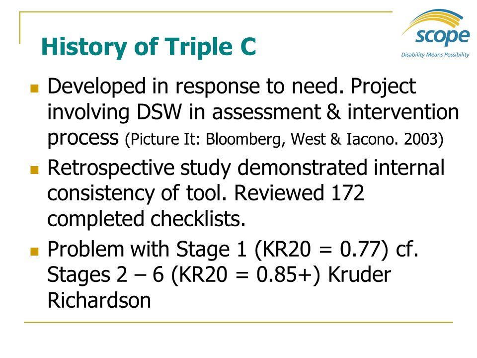 History of Triple C