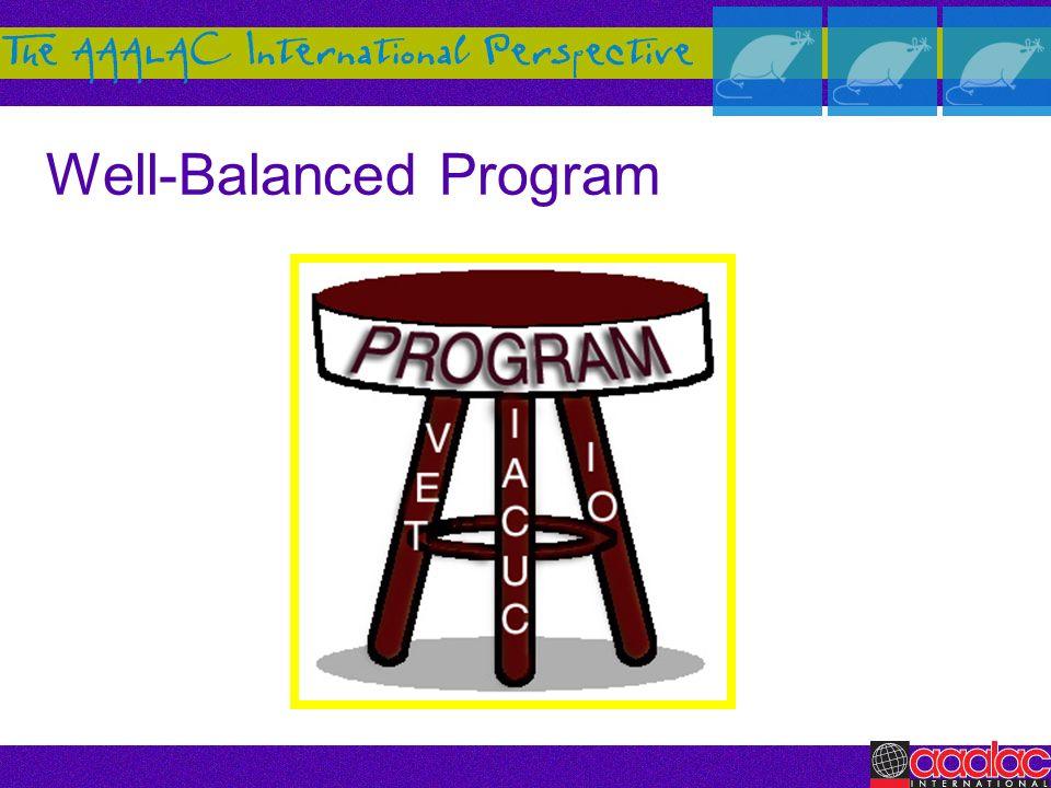 Well-Balanced Program