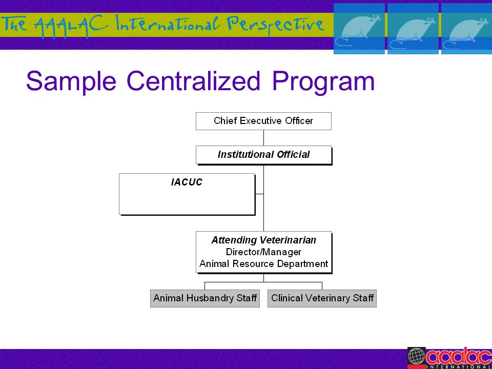 Sample Centralized Program