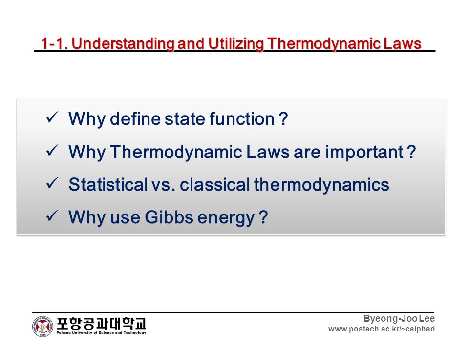 function of the state Consider this - a function of state is any physical quantity that has a well-defined value for each equilibrium state of the system (blundell and blundell - thermal physics) my question is - are.