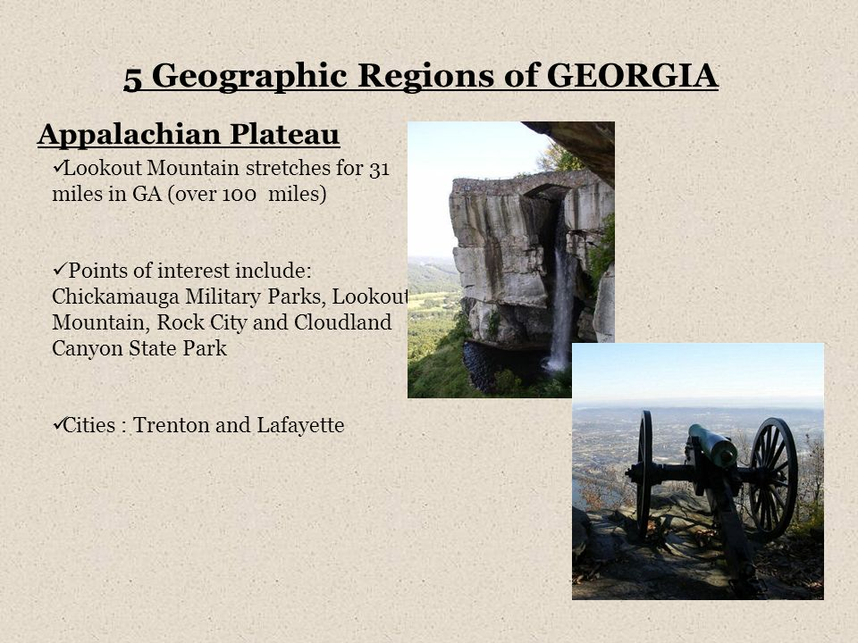 5 Geographic Regions Of Georgia Ppt Video Online Download
