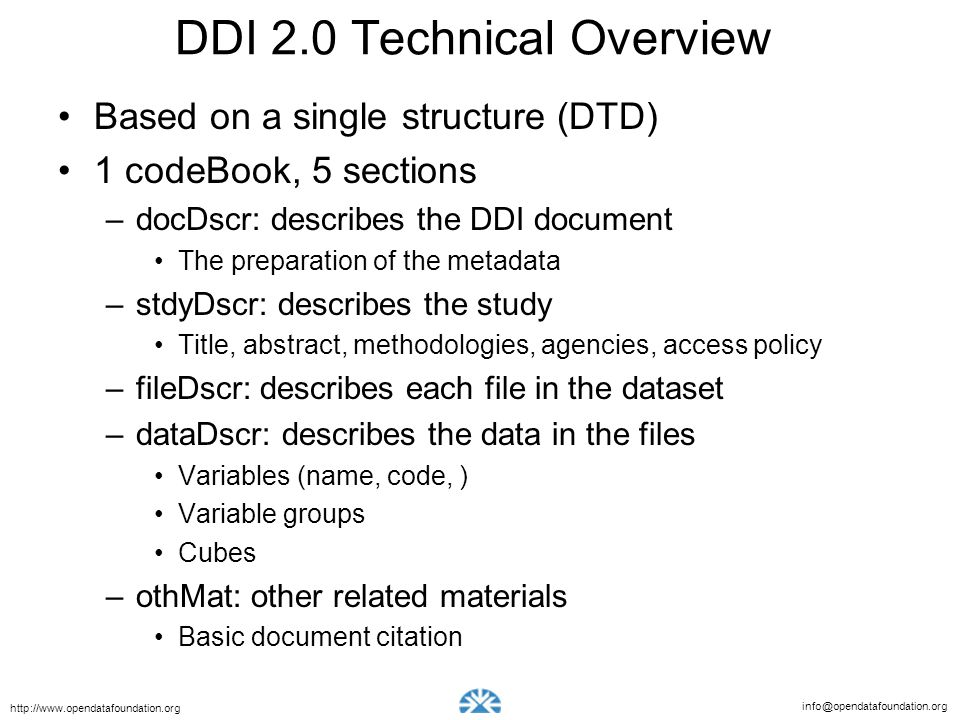 DDI 2.0 Technical Overview