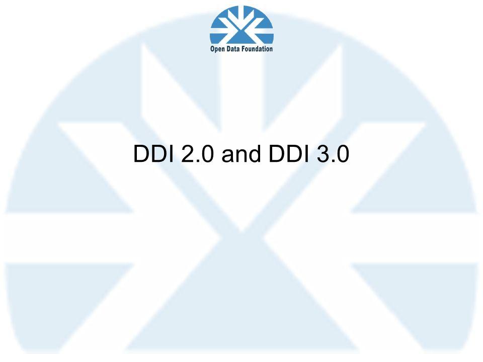 DDI 2.0 and DDI 3.0