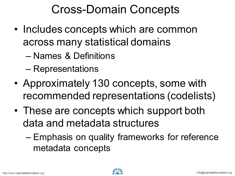 Cross-Domain Concepts