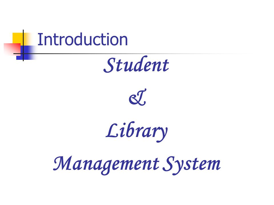 introduction of library system The combination of integrated library systems,  since its introduction almost a decade ago libraries are increasingly  systems librarian column.