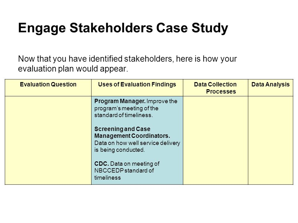 MHA 601 Week 4 Assignment Case Study Stakeholder Dynamics