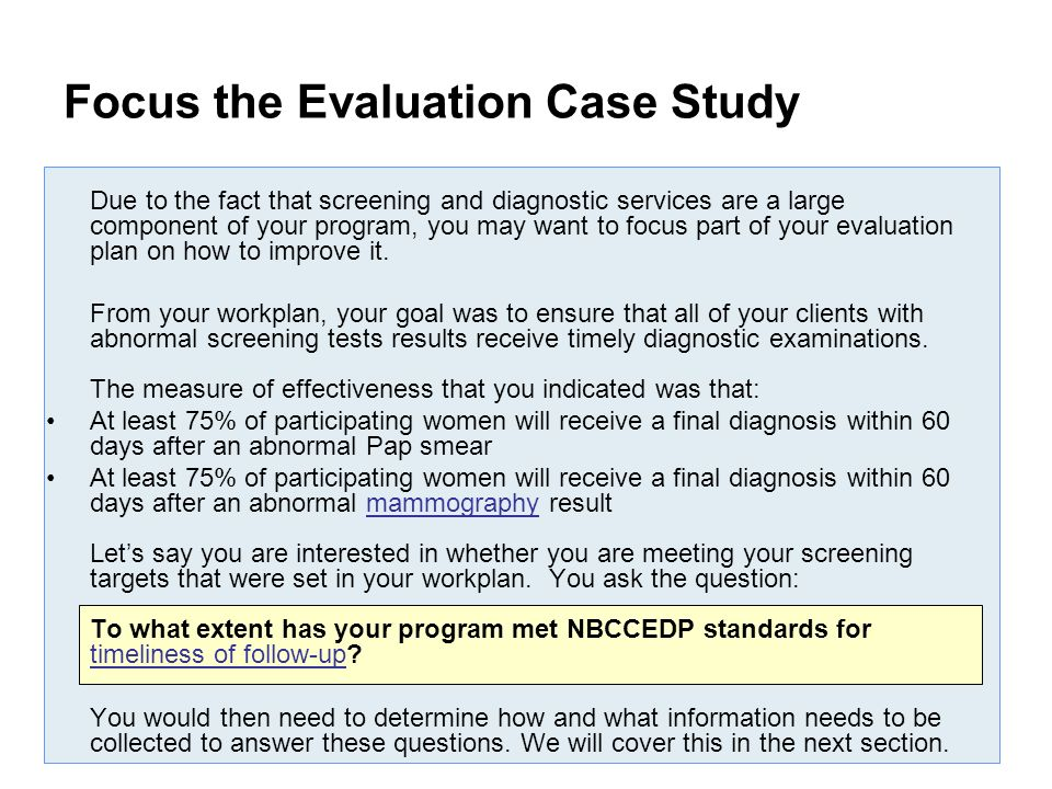 overview of program evaluation 25 summary 35 chapter 3 evaluation designs 36 assess program outcomes 12 the evaluation process basic program evaluation issues.