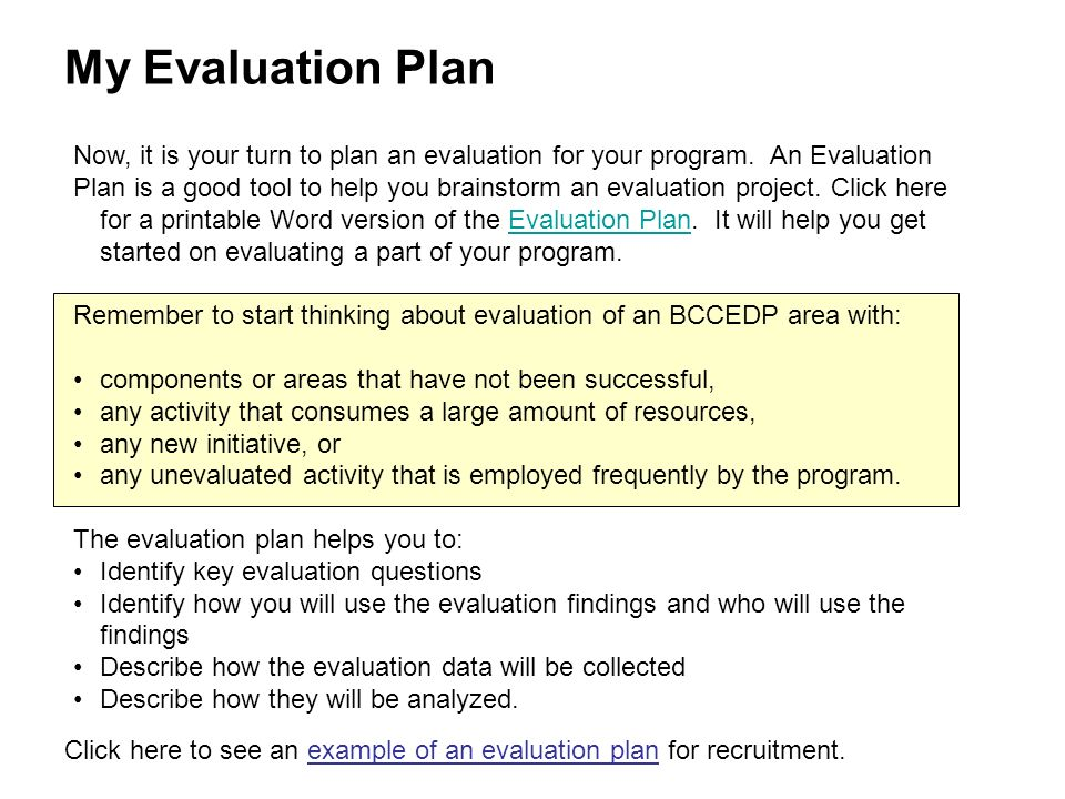 Module 1 Overview Of Evaluation - Ppt Download
