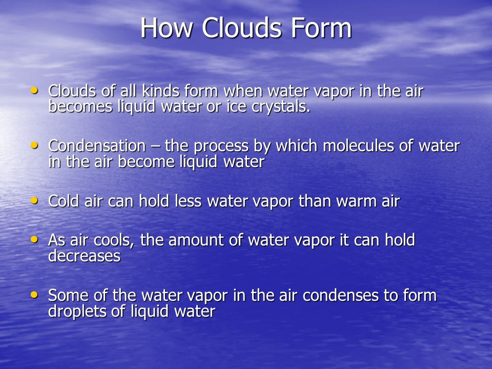 Chapter 2 – Weather factors - ppt download