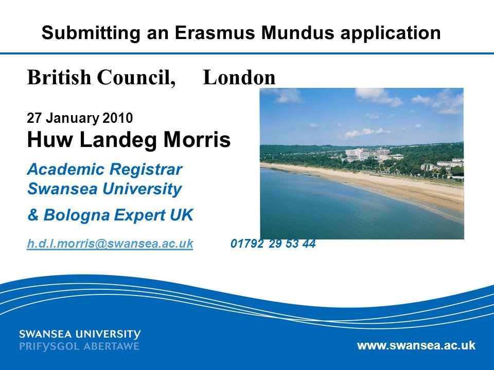 British Council, London Huw Landeg Morris
