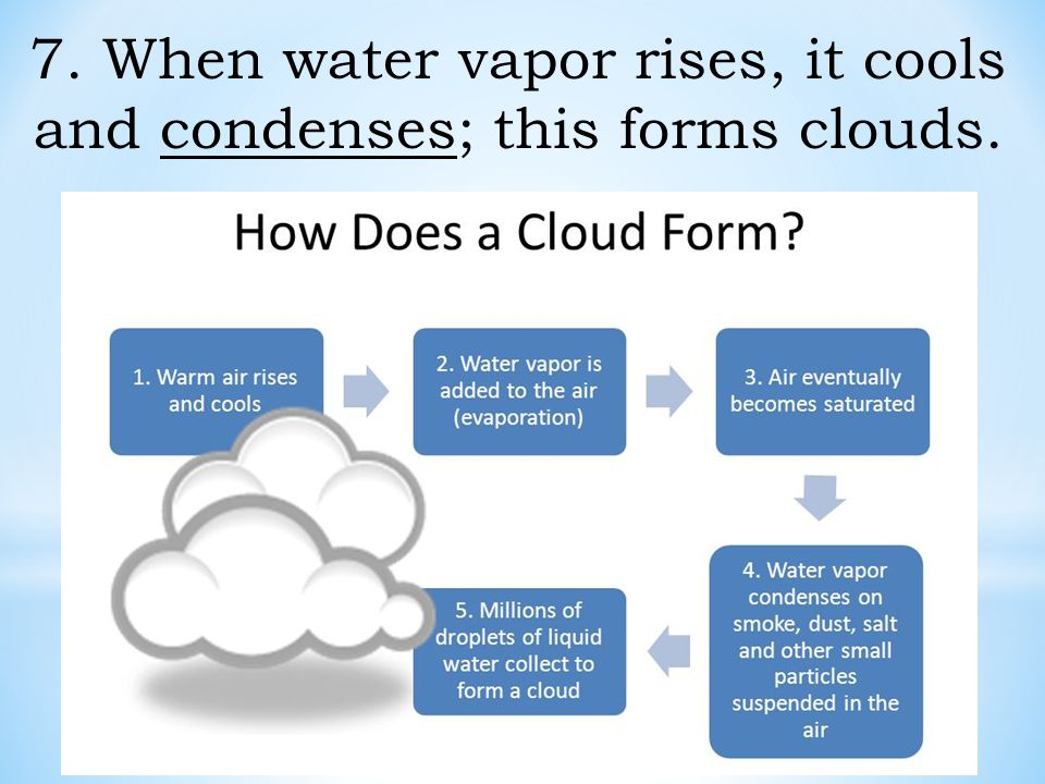 Chapter 7 Lesson 2 The Water Cycle - ppt download