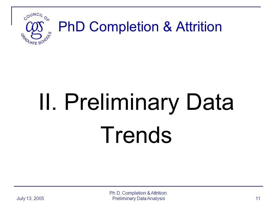 PhD Completion & Attrition